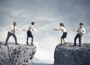 Concept of team and competition in business