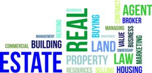 word cloud - real estate